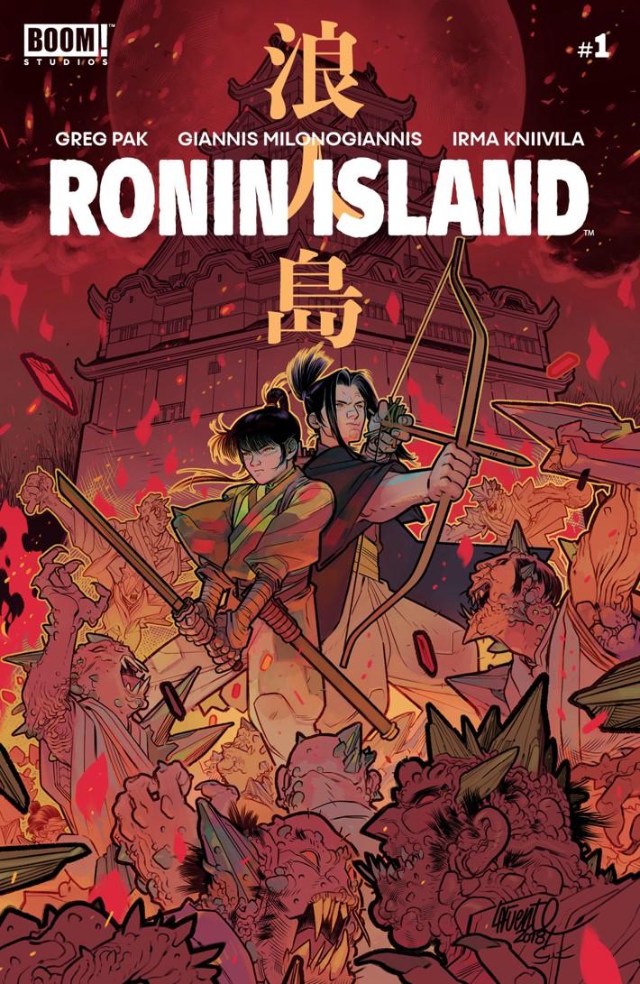RoninIsland_001_C_Variant ComicList Previews: RONIN ISLAND #1