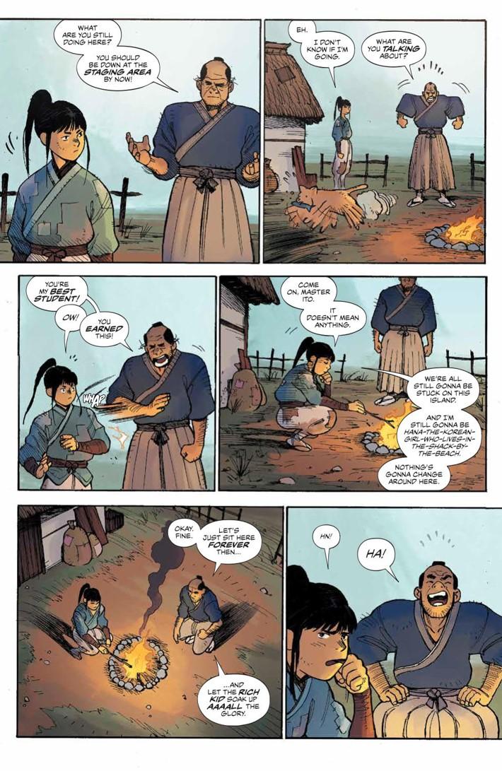 RoninIsland_001_PRESS_5 ComicList Previews: RONIN ISLAND #1