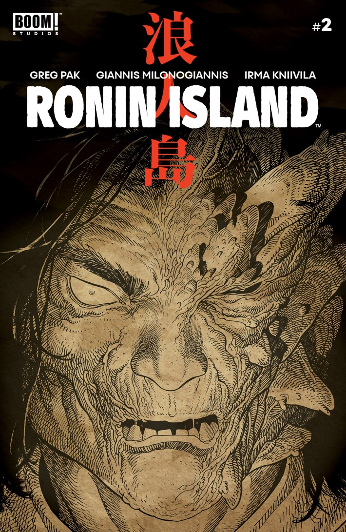 RoninIsland_002_Cover_B_Preorder ComicList Previews: RONIN ISLAND #2