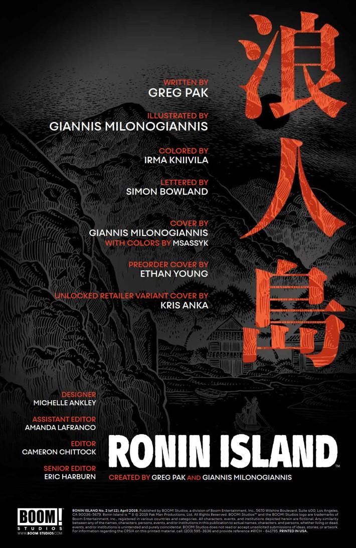 RoninIsland_002_PRESS_2 ComicList Previews: RONIN ISLAND #2