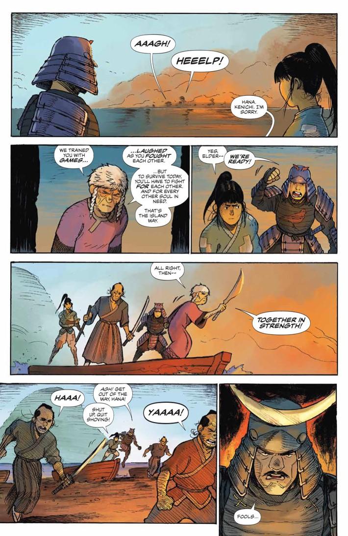 RoninIsland_002_PRESS_4 ComicList Previews: RONIN ISLAND #2