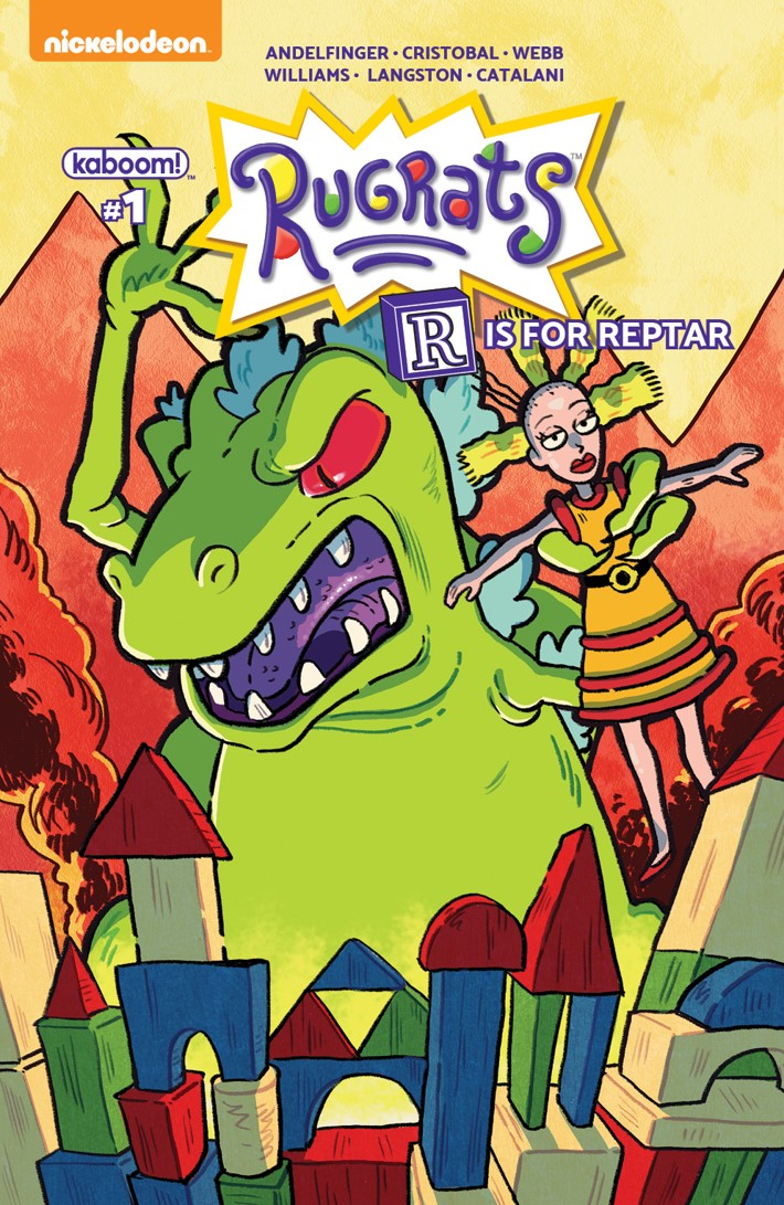 Rugrats_RisforReptar_A_Main ComicList Previews: RUGRATS R IS FOR REPTAR 2018 SPECIAL #1