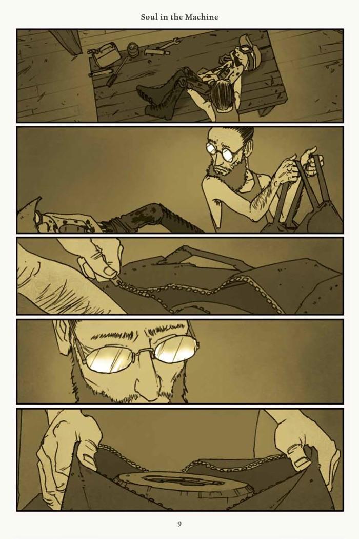 Rust_v4_SC_PRESS_11 ComicList Previews: RUST VOLUME 4 HC