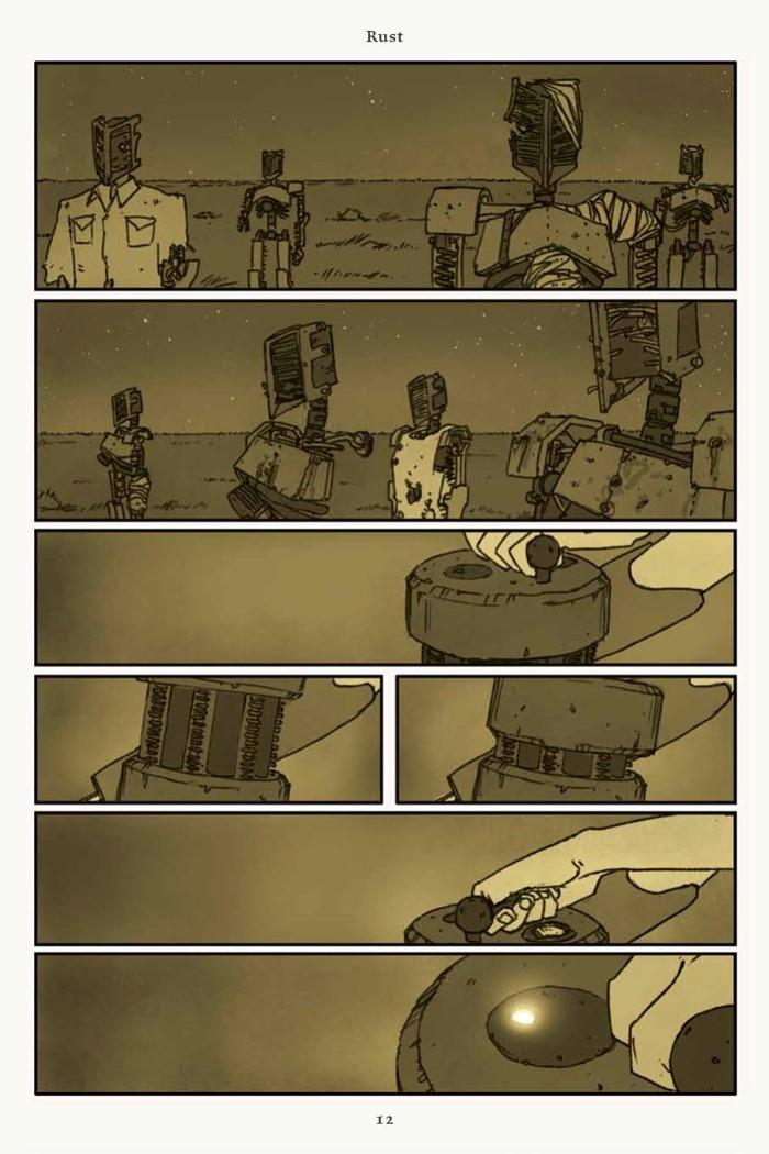 Rust_v4_SC_PRESS_14 ComicList Previews: RUST VOLUME 4 HC