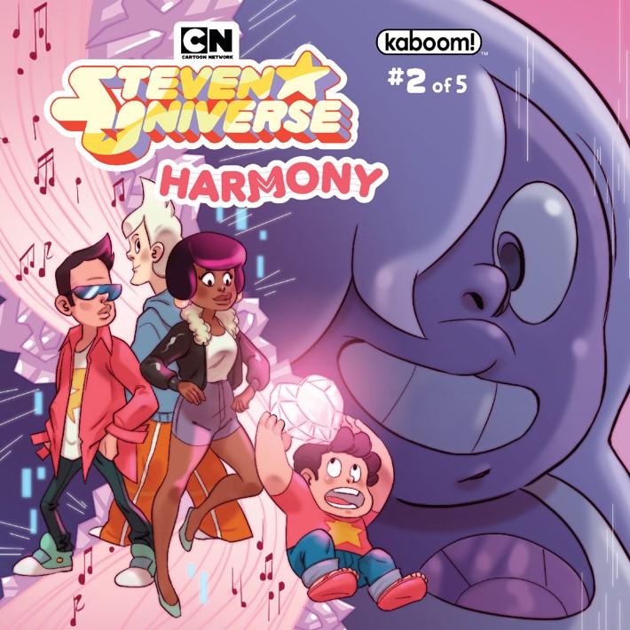 SU_Harmony_002_A_Main ComicList Previews: STEVEN UNIVERSE HARMONY #2