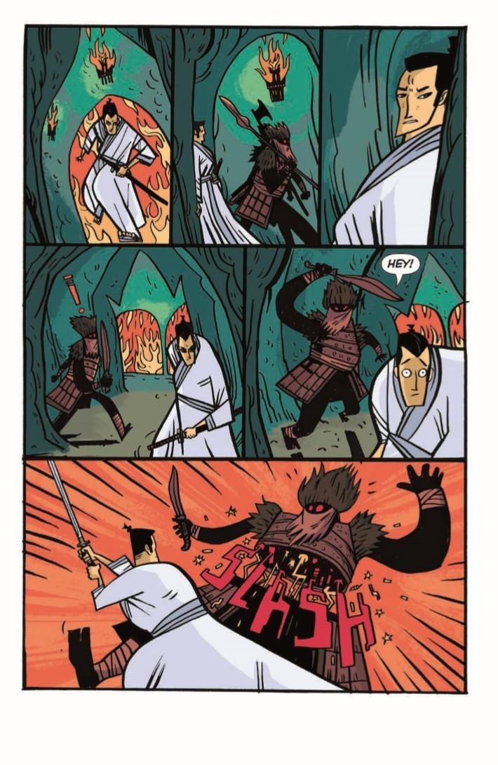 SamuraiJack_QJ_05-pr-4 ComicList Previews: SAMURAI JACK QUANTUM JACK #5
