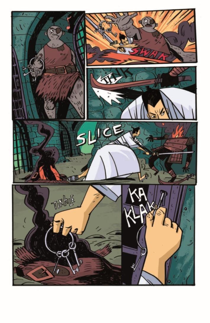 SamuraiJack_QJ_05-pr-5 ComicList Previews: SAMURAI JACK QUANTUM JACK #5