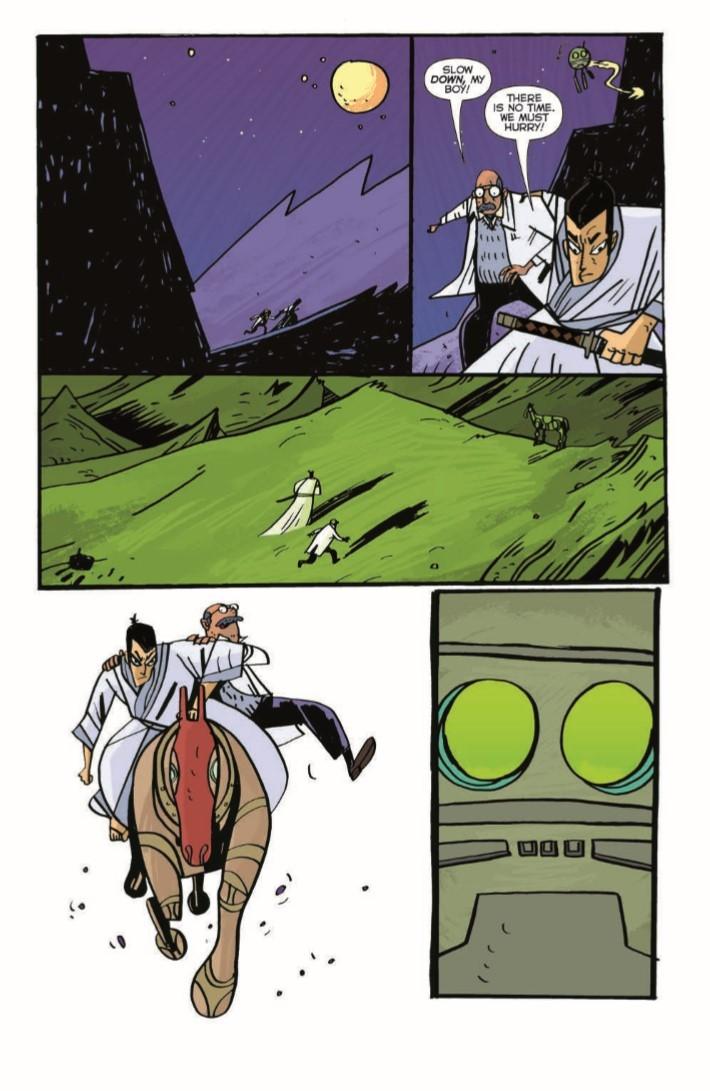 SamuraiJack_QJ_05-pr-7 ComicList Previews: SAMURAI JACK QUANTUM JACK #5