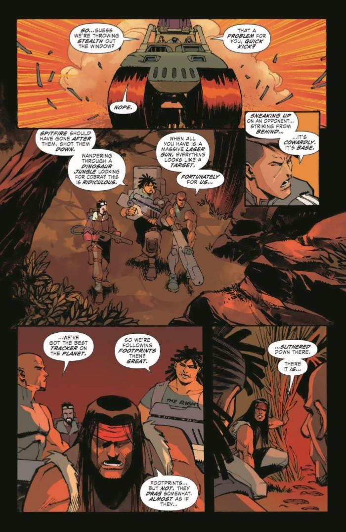 ScarlettStrikeForce_03-pr-3 ComicList Previews: SCARLETT'S STRIKE FORCE #3