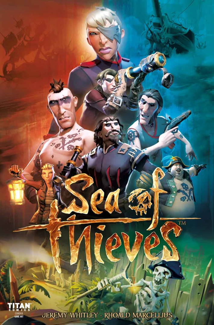 Sea-of-Thieves-3-Cover-B ComicList Previews: SEA OF THIEVES #3