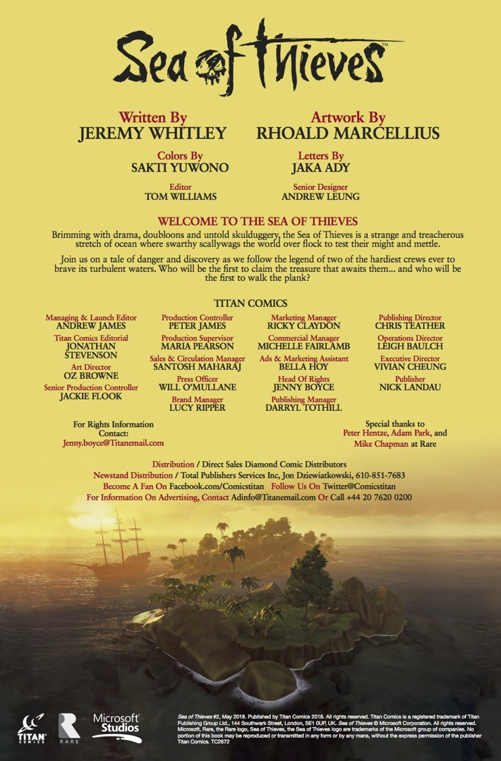 Sea_of_Thieves_2_credits ComicList Previews: SEA OF THIEVES #2