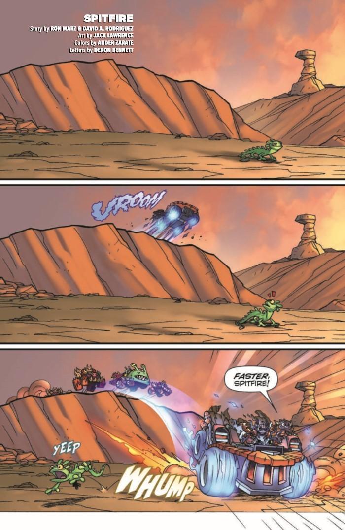 SkylandersQuarterly_BitingBack-pr-3 ComicList Previews: SKYLANDERS QUARTERLY SPYRO AND FRIENDS #3 (BITING BACK)