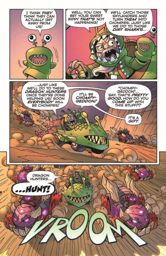 SkylandersQuarterly_BitingBack-pr-7 ComicList Previews: SKYLANDERS QUARTERLY SPYRO AND FRIENDS #3 (BITING BACK)