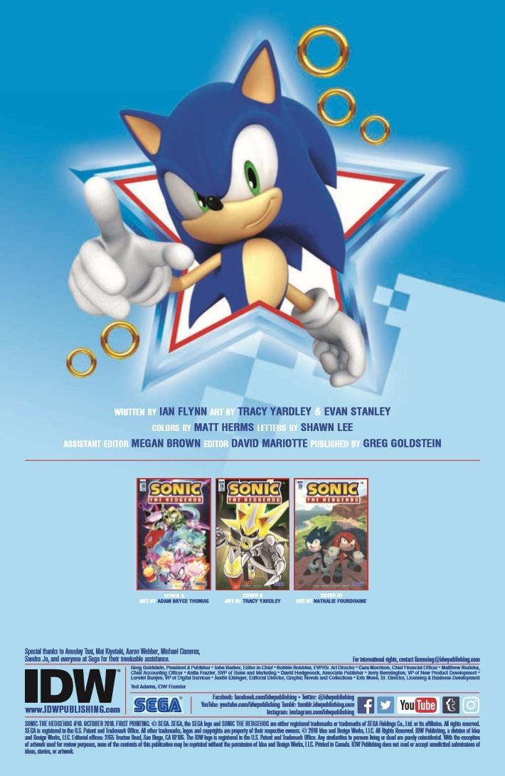 Sonic_10-pr-2 ComicList Previews: SONIC THE HEDGEHOG #10