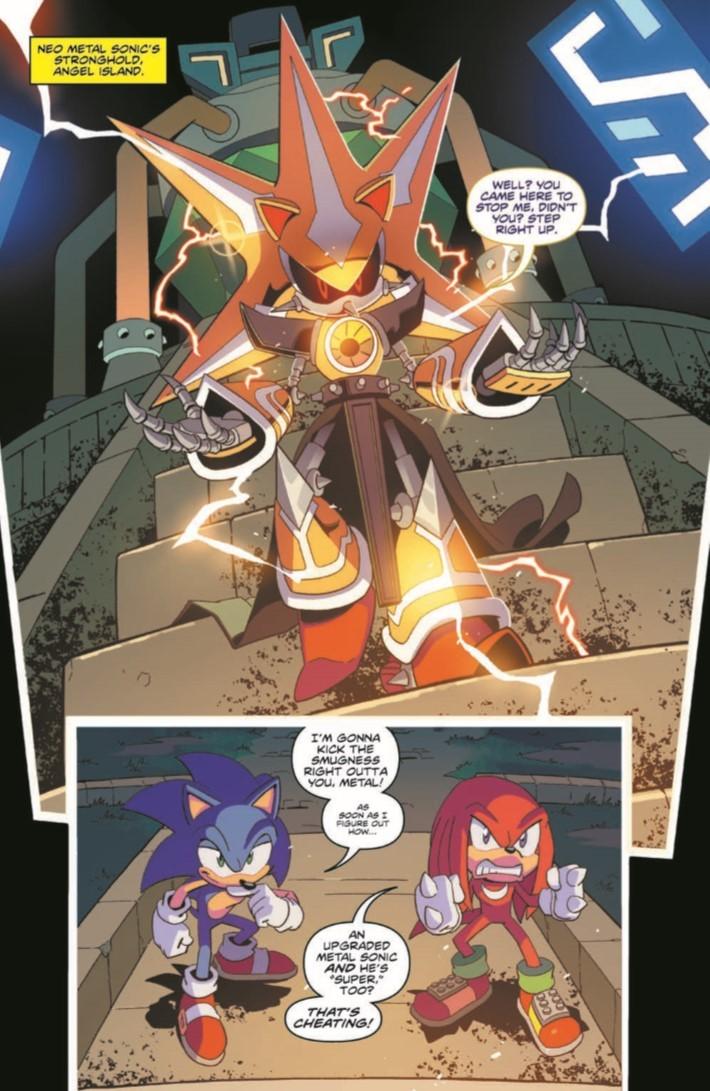 Sonic_10-pr-5 ComicList Previews: SONIC THE HEDGEHOG #10