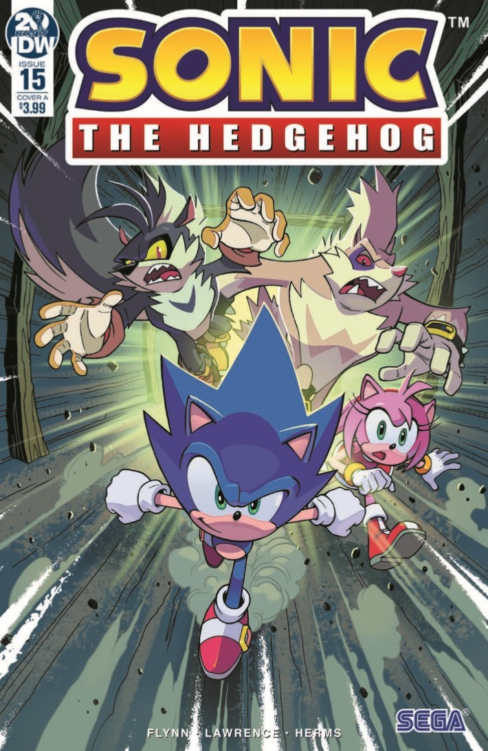 Sonic_15-pr-1 ComicList Previews: SONIC THE HEDGEHOG #15