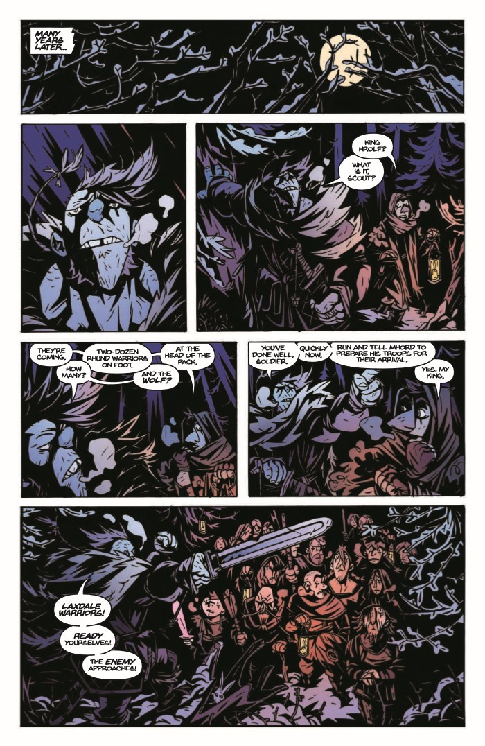 SpiderKing_01-pr-6 ComicList Previews: THE SPIDER KING #1