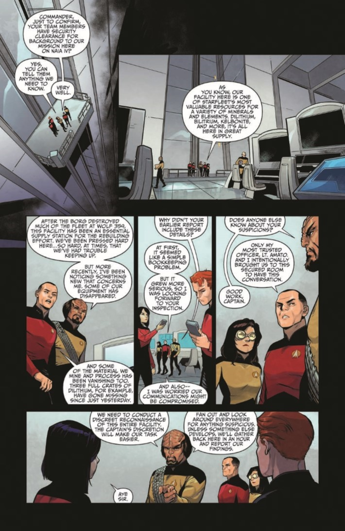 StarTrekTNG_ThroughTheMirror_01-pr-5 ComicList Previews: STAR TREK THE NEXT GENERATION THROUGH THE MIRROR #1