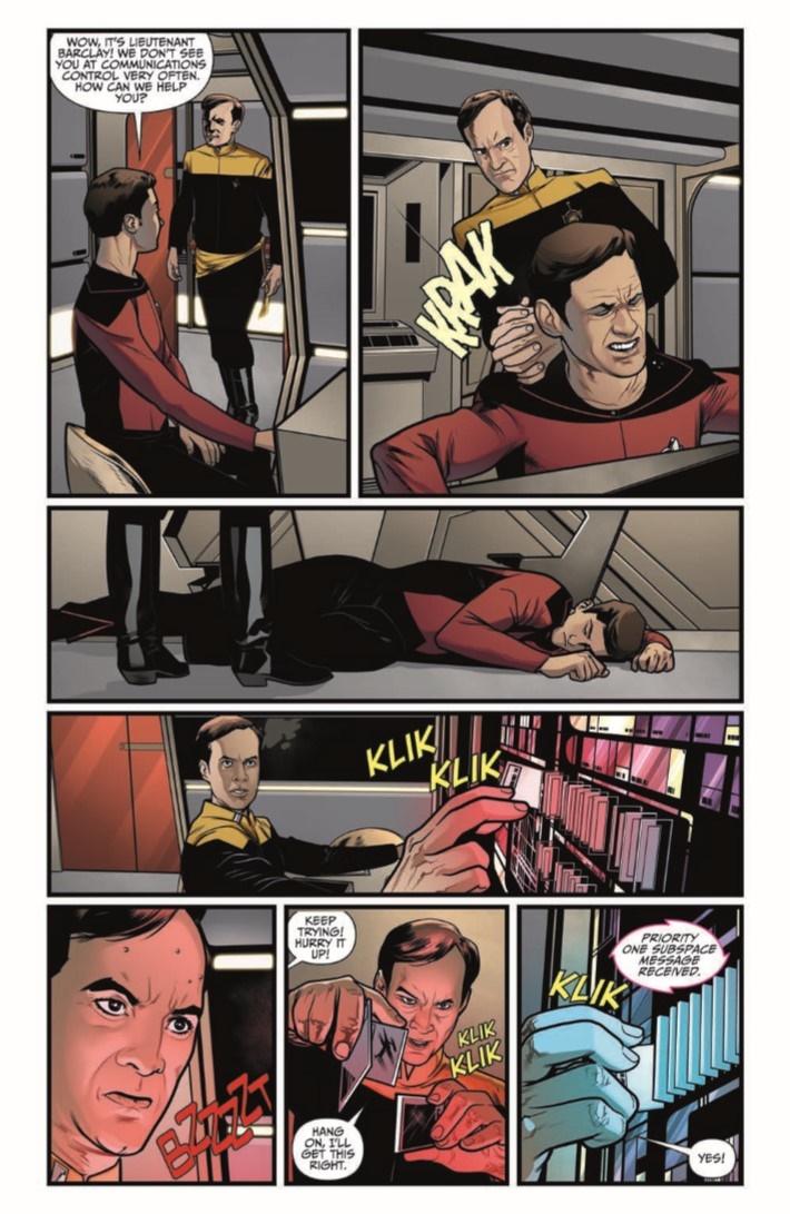 StarTrekTNG_ThroughTheMirror_03-pr-5 ComicList Previews: STAR TREK THE NEXT GENERATION THROUGH THE MIRROR #3