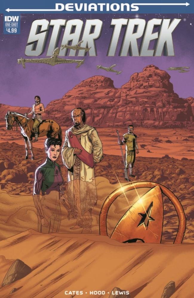 StarTrek_Deviations_2017-pr-1 ComicList Preview: STAR TREK DEVIATIONS #1