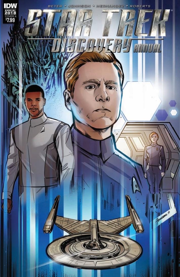 StarTrek_Discovery_Annual_2018-pr-1 ComicList Previews: STAR TREK DISCOVERY ANNUAL 2018