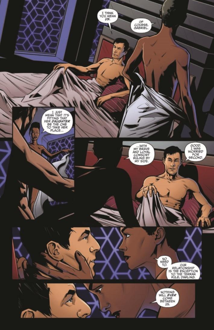 StarTrek_Discovery_Succession_01-pr-4 ComicList Previews: STAR TREK DISCOVERY SUCCESSION #1