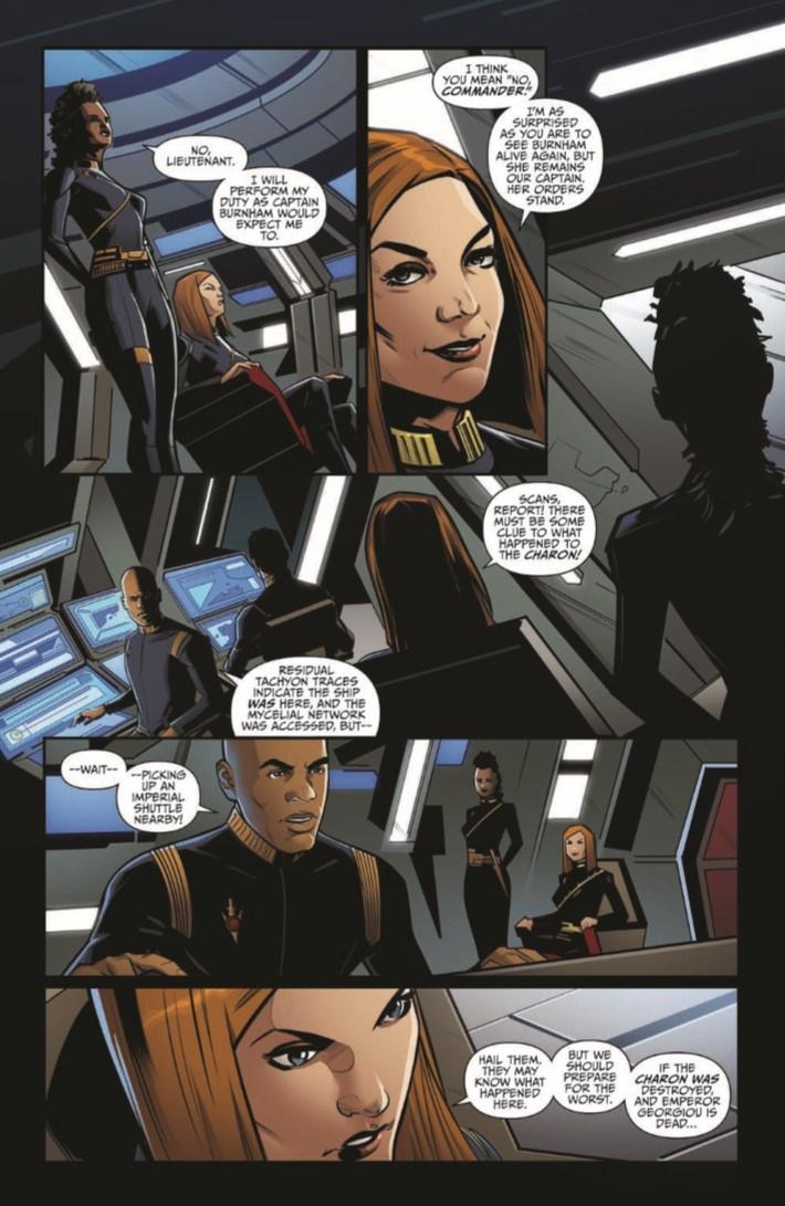 StarTrek_Discovery_Succession_01-pr-7 ComicList Previews: STAR TREK DISCOVERY SUCCESSION #1