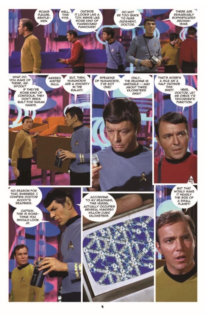 StarTrek_NV_15-pr-6 ComicList Preview: STAR TREK NEW VISIONS #15 THE TRAVELER