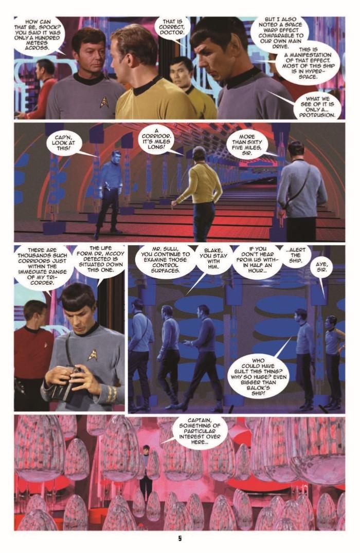 StarTrek_NV_15-pr-7 ComicList Preview: STAR TREK NEW VISIONS #15 THE TRAVELER