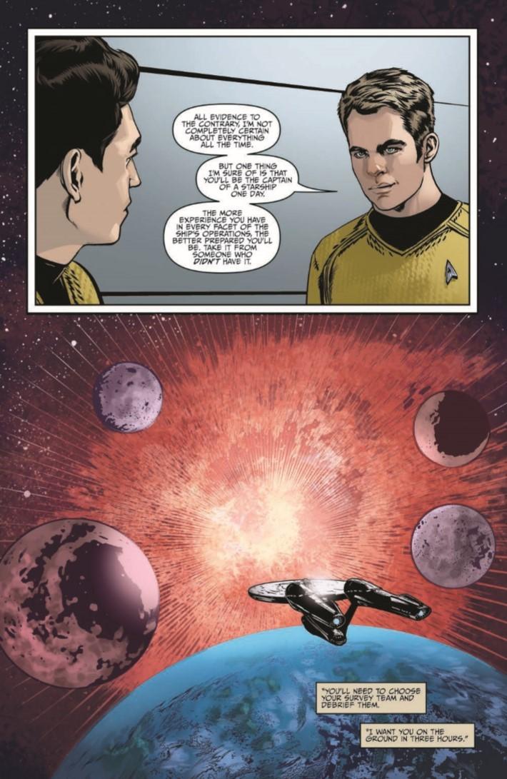 StarTrek_NewAdv_v5-pr-5 ComicList Previews: STAR TREK NEW ADVENTURES VOLUME 5 TP