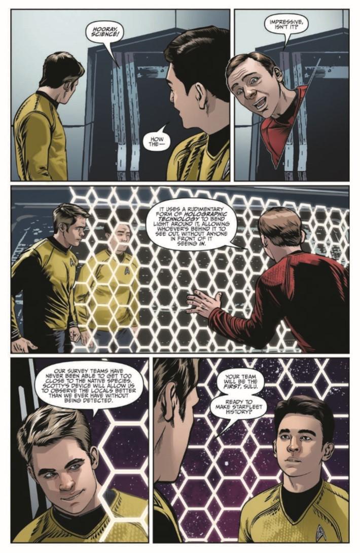 StarTrek_NewAdv_v5-pr-7 ComicList Previews: STAR TREK NEW ADVENTURES VOLUME 5 TP
