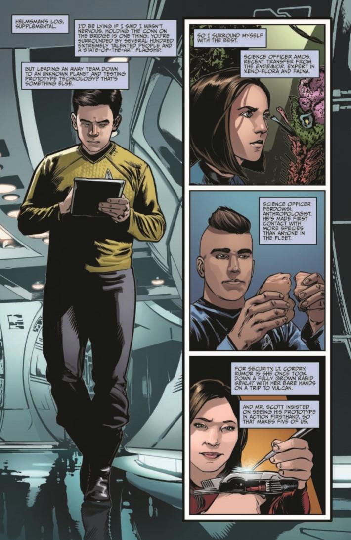 StarTrek_NewAdv_v5-pr-8 ComicList Previews: STAR TREK NEW ADVENTURES VOLUME 5 TP