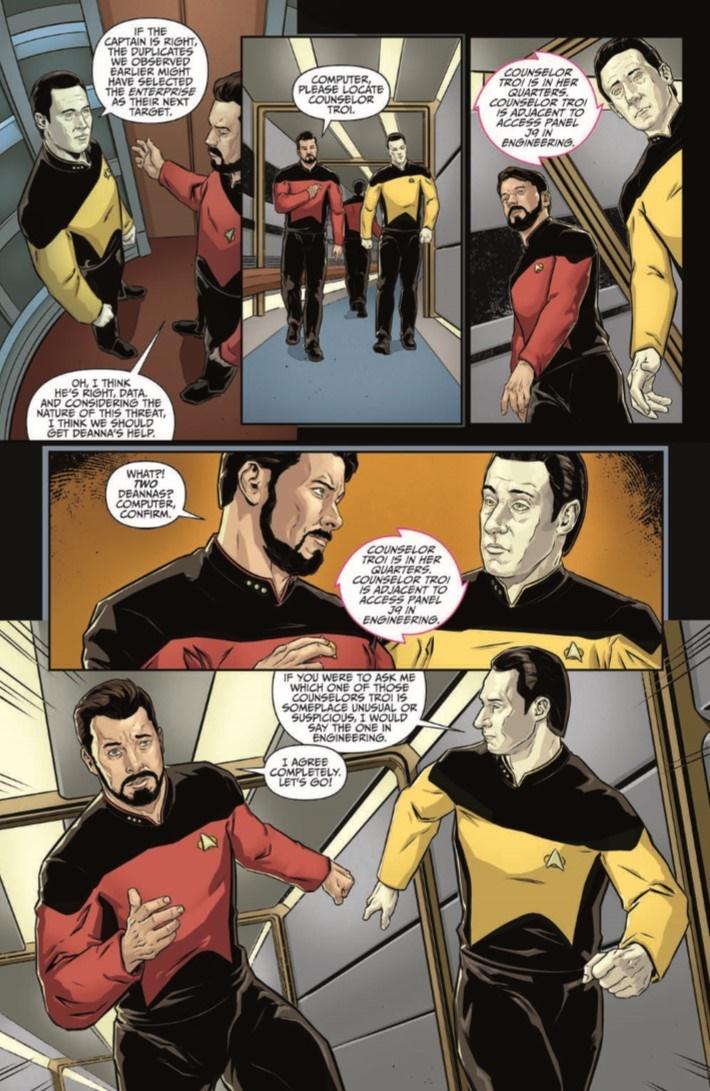 StarTrek_ThroughTheMirror_04-pr-5 ComicList Previews: STAR TREK THE NEXT GENERATION THROUGH THE MIRROR #4