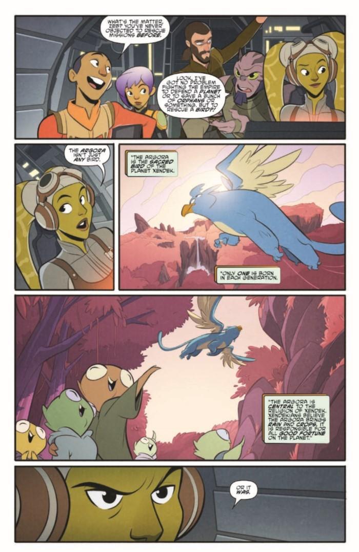 StarWarsAdv_07-pr-4 ComicList Previews: STAR WARS ADVENTURES #7