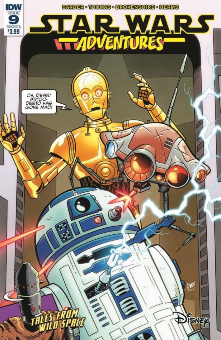 StarWarsAdv_09-pr-1 ComicList Previews: STAR WARS ADVENTURES #9