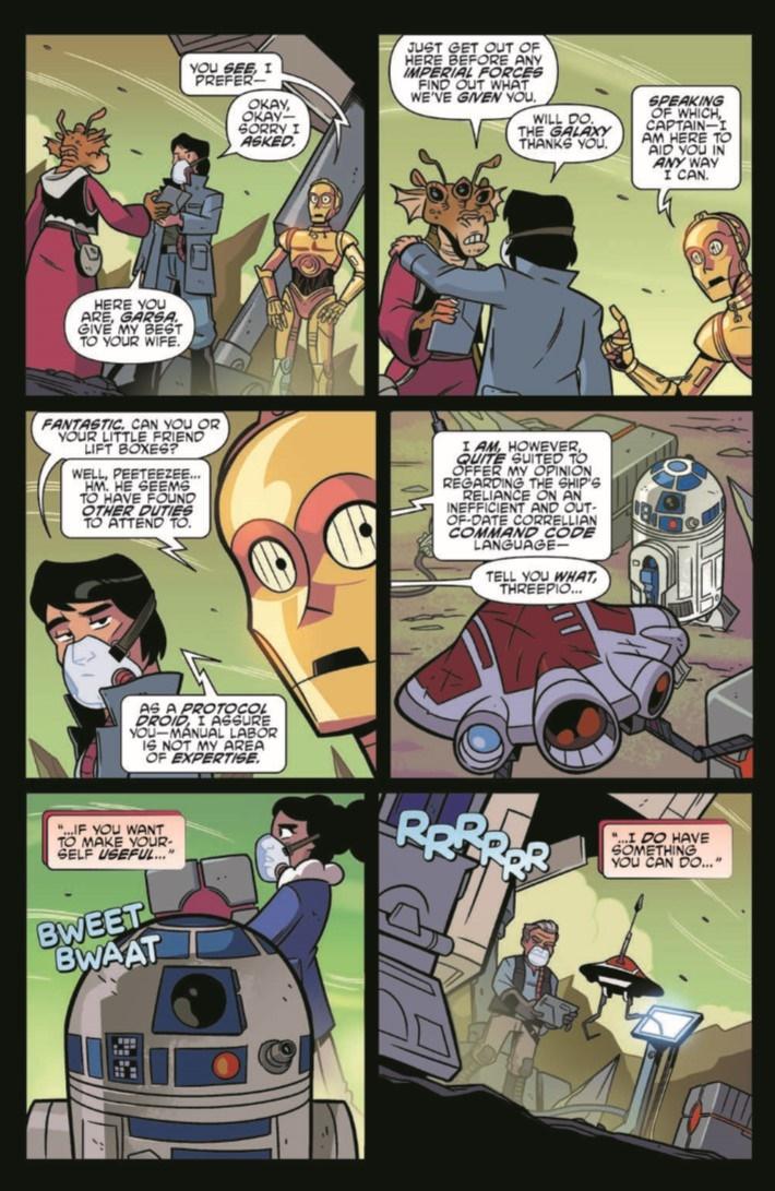 StarWarsAdv_09-pr-4 ComicList Previews: STAR WARS ADVENTURES #9