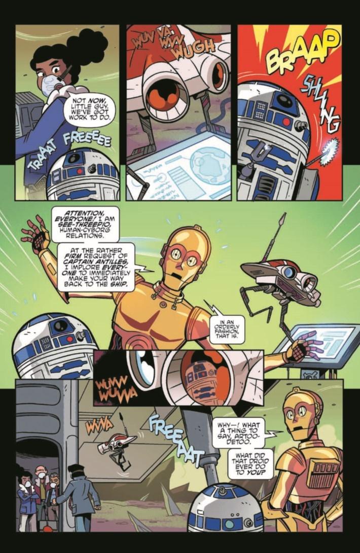 StarWarsAdv_09-pr-5 ComicList Previews: STAR WARS ADVENTURES #9