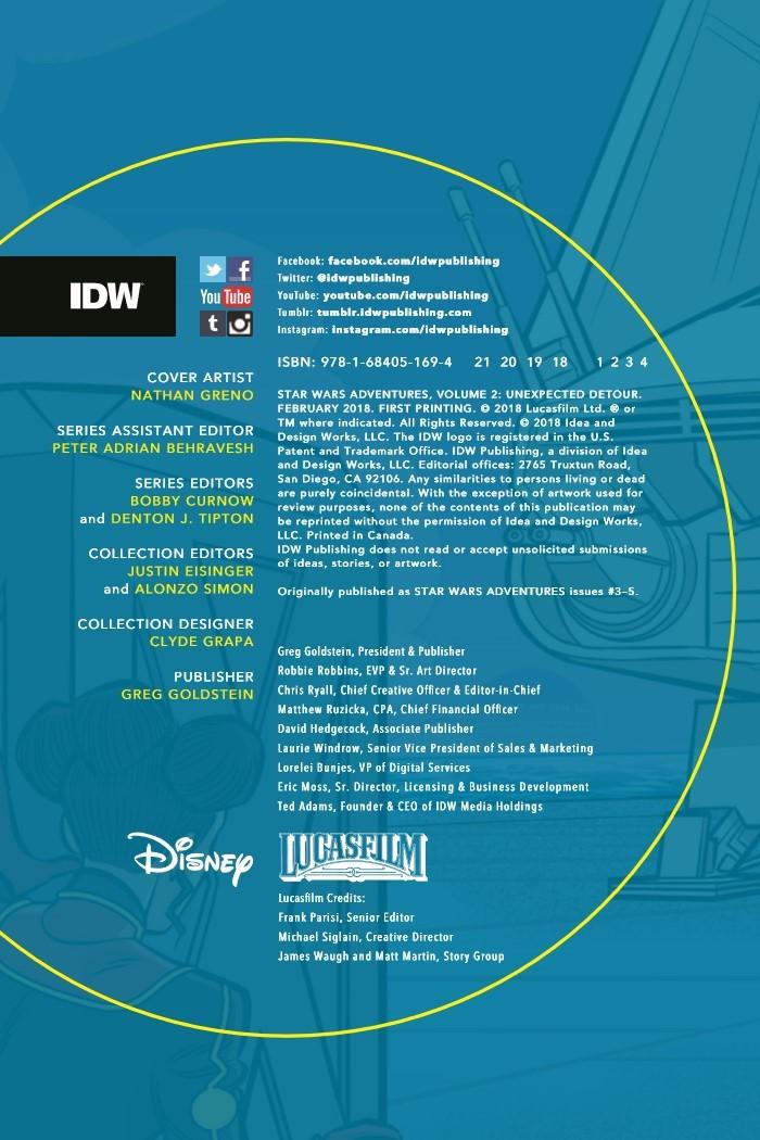 StarWarsAdv_v2-pr-2 ComicList Previews: STAR WARS ADVENTURES VOLUME 2 UNEXPECTED DETOUR TP