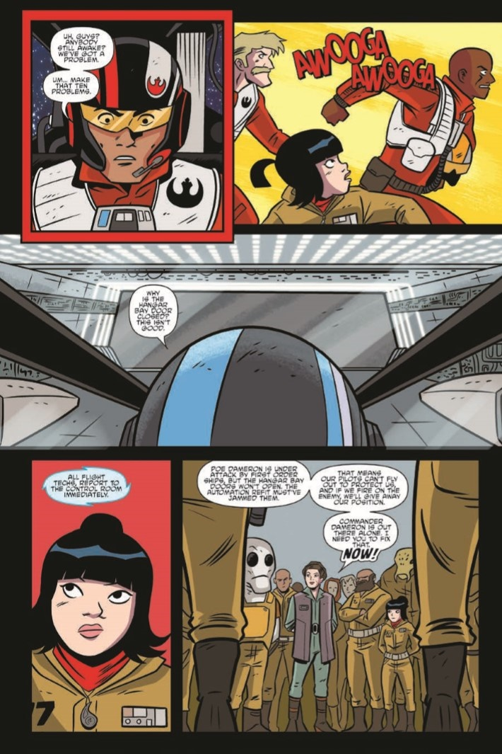 StarWars_Adventures_vol3-pr-7 ComicList Previews: STAR WARS ADVENTURES VOLUME 3 ENDANGERED TP