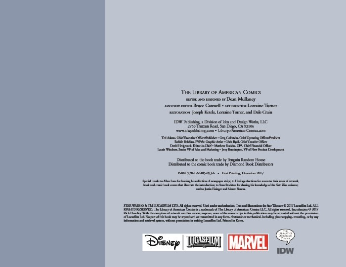 StarWars_Newspaper_v2-pr-2 ComicList Previews: STAR WARS THE CLASSIC NEWSPAPER COMICS VOLUME 2 HC