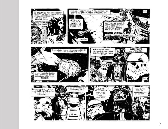 StarWars_Newspaper_v2-pr-5 ComicList Previews: STAR WARS THE CLASSIC NEWSPAPER COMICS VOLUME 2 HC