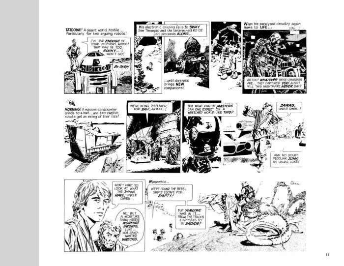StarWars_Newspaper_v2-pr-7 ComicList Previews: STAR WARS THE CLASSIC NEWSPAPER COMICS VOLUME 2 HC