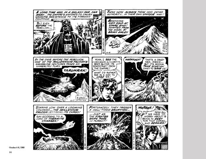 StarWars_Newspaper_v2-pr-8 ComicList Previews: STAR WARS THE CLASSIC NEWSPAPER COMICS VOLUME 2 HC