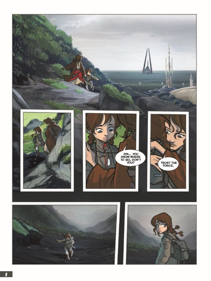 StarWars_RogueOne-pr-4 ComicList Previews: STAR WARS ROGUE ONE GN
