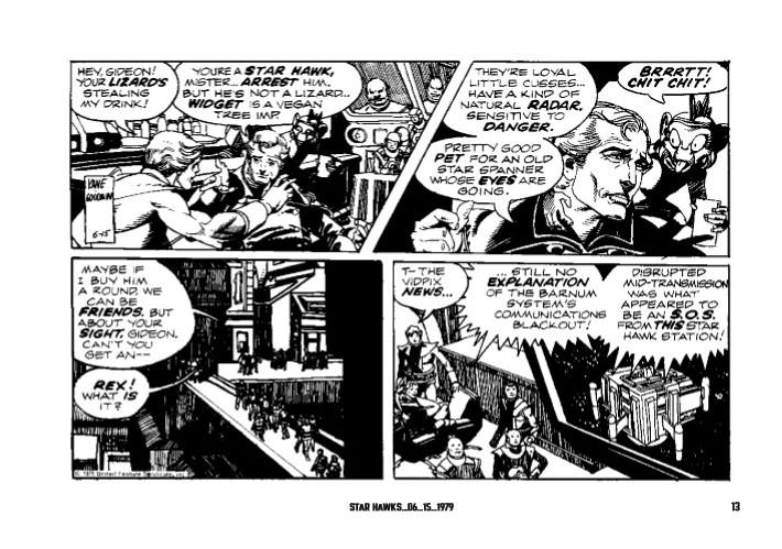 Star_Hawks_Vol_03-pr-7 ComicList Previews: STAR HAWKS VOLUME 3 1979-1981 HC