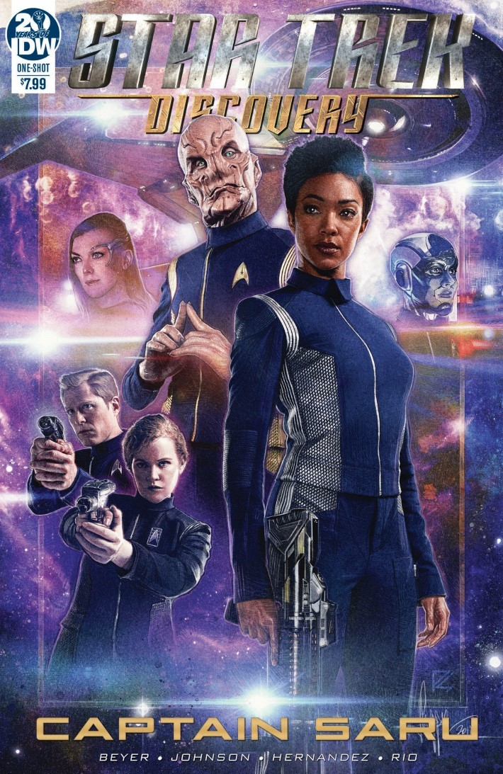 Star_Trek_Captain_Saru-pr-1 ComicList Previews: STAR TREK DISCOVERY CAPTAIN SARU #1