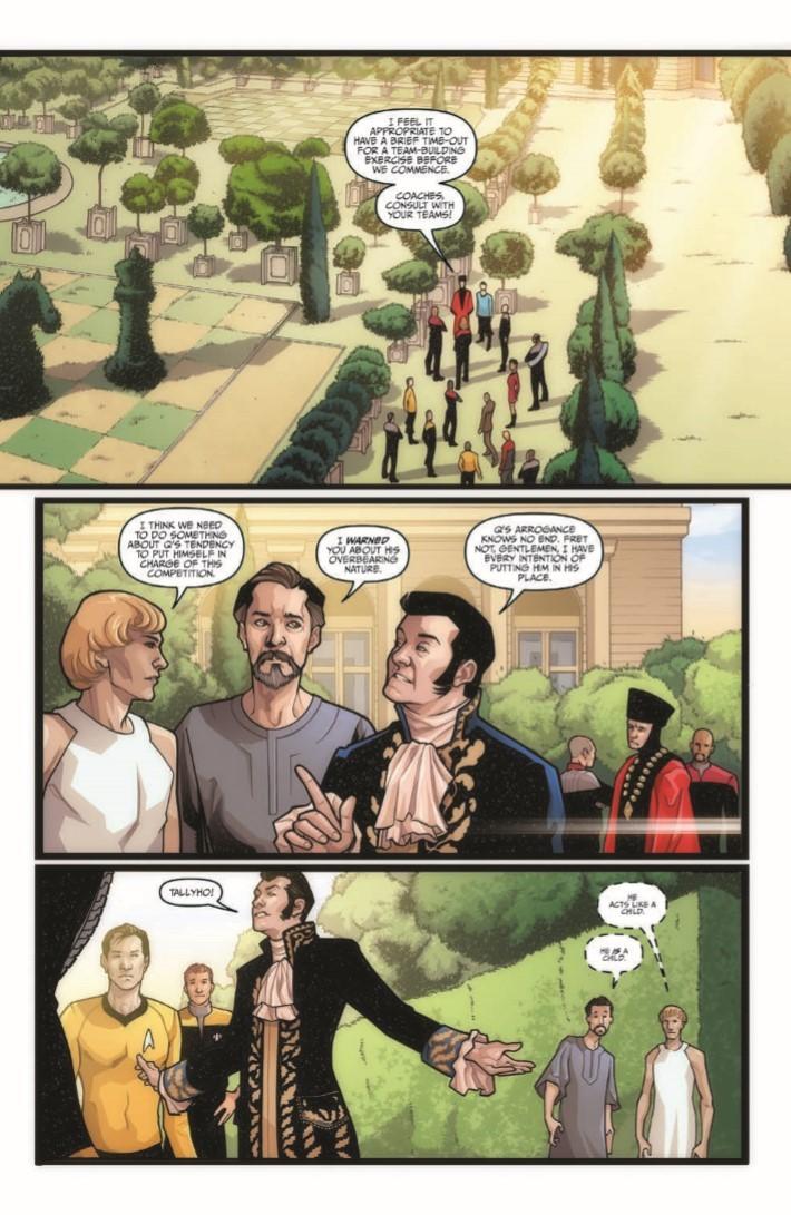 Comiclist Previews Star Trek The Q Conflict 3