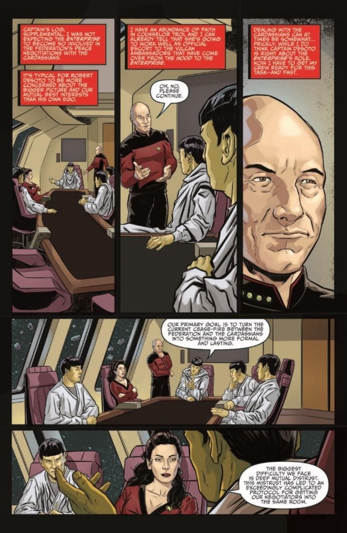 Star_Trek_TNG_Terra_Incognita_02-pr-5 ComicList Previews: STAR TREK THE NEXT GENERATION TERRA INCOGNITA #2