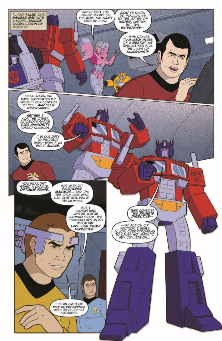 Star_Trek_Transformers_05-pr-4 ComicList Previews: STAR TREK VS TRANSFORMERS #5