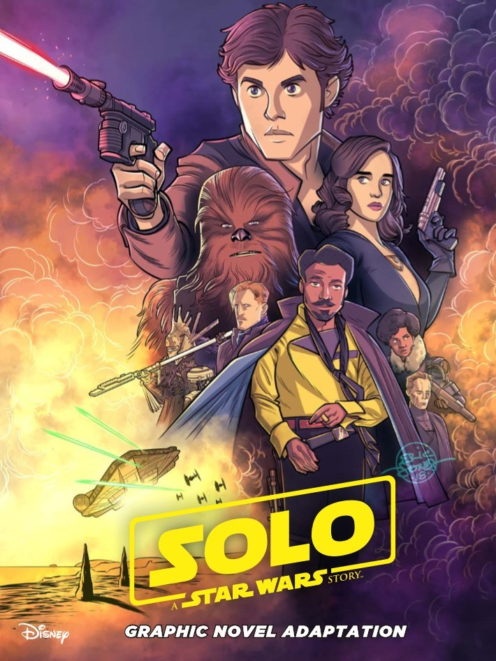Star_Wars_Solo_Graphic_Novel-pr-1 ComicList Previews: STAR WARS SOLO GN